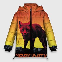 Женская зимняя 3D-куртка с капюшоном с принтом The Prodigy: Red Fox, цвет: 3D-черный, артикул: 10063917806071 — фото 1