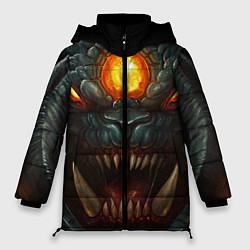 Куртка зимняя женская Roshan Rage цвета 3D-черный — фото 1