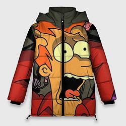 Куртка зимняя женская Frai Horrified цвета 3D-черный — фото 1