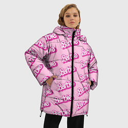 Куртка зимняя женская Barbie Pattern цвета 3D-черный — фото 2