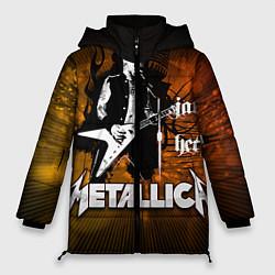 Куртка зимняя женская Metallica: James Hetfield - фото 1