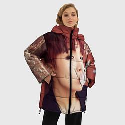 Куртка зимняя женская J-Hope цвета 3D-черный — фото 2