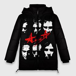 Куртка зимняя женская Группа АлисА цвета 3D-черный — фото 1