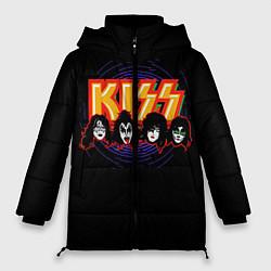 Женская зимняя куртка KISS: Death Faces