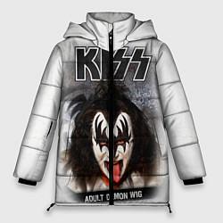 Куртка зимняя женская KISS: Adult demon wig цвета 3D-черный — фото 1
