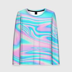 Лонгслив женский WAVES цвета 3D — фото 1