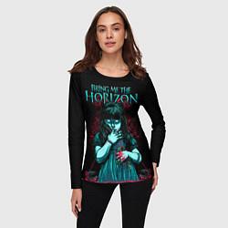 Лонгслив женский BMTH: Zombie Girl цвета 3D-принт — фото 2