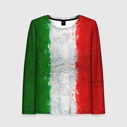 Лонгслив женский Italian цвета 3D — фото 1