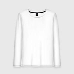 Лонгслив хлопковый женский Archive цвета белый — фото 1
