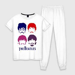 Женская пижама The Beatles faces