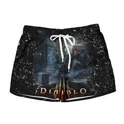 Шорты женские Diablo III: Catacombs цвета 3D — фото 1