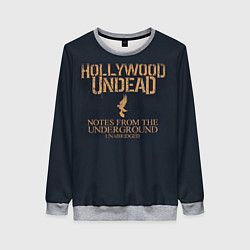 Свитшот женский Hollywood Undead: Underground цвета 3D-меланж — фото 1