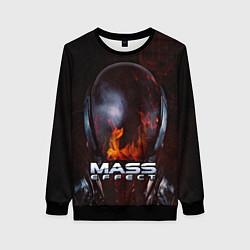 Свитшот женский Mass Effect цвета 3D-черный — фото 1