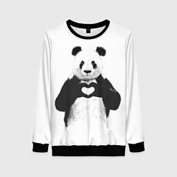 Женский свитшот Panda Love