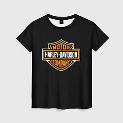 Футболка женская Harley-Davidson: Motor Company цвета 3D — фото 1