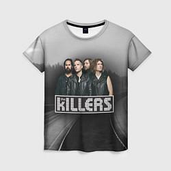 Футболка женская The Killers цвета 3D — фото 1