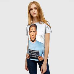 Футболка женская Prison Break: Michael Scofield цвета 3D — фото 2