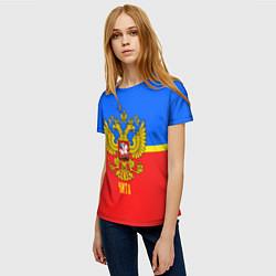 Футболка женская Чита: Россия цвета 3D — фото 2