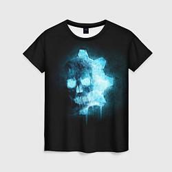 Футболка женская Gears of War: Death Shadow цвета 3D — фото 1