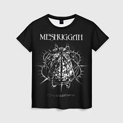 Футболка женская Meshuggah: Chaosphere цвета 3D — фото 1