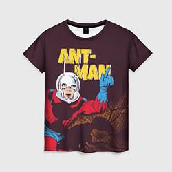 Футболка женская Ant-man comics цвета 3D-принт — фото 1
