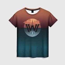 Футболка женская Westworld цвета 3D — фото 1