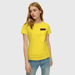 Футболка хлопковая женская WandaVision цвета желтый — фото 2